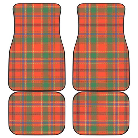 Car Floor Mats - Clan Munro Ancient Plaid Tartan Car Mats - 4 Pieces
