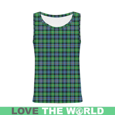 Murray Of Atholl Ancient Tartan All Over Print Tank Top Nl25 Xs / Men Tops