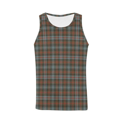 Murray Of Atholl Weathered Tartan All Over Print Tank Top Nl25 Xs / Men Tops