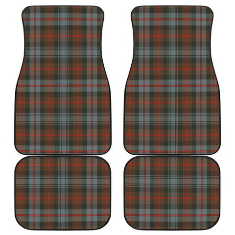Car Floor Mats - Clan Murray Of Atholl Weathered Plaid Tartan Car Mats - 4 Pieces