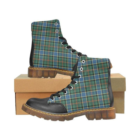 Image of Tartan Apache Boot - Ogilvie Hunting Ancient | Footwear | Over 500 Tartans