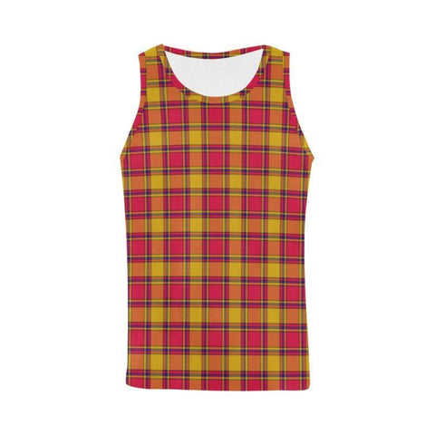Scrymgeour Tartan All Over Print Tank Top Nl25 Xs / Men Tops
