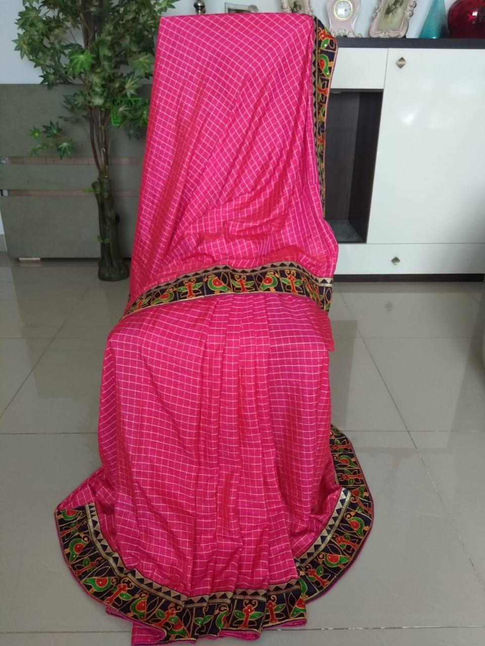 Fancy Silk Saree With Blouse Piece