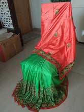 Load image into Gallery viewer, Silk Saree With Blouse Piece