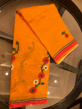 Load image into Gallery viewer, Beautiful Cotton Saree With Blouse Piece