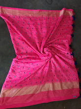 Load image into Gallery viewer, Sana silk thread Work designer saree with blouse piece