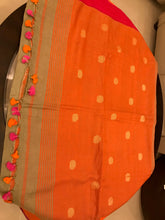 Load image into Gallery viewer, Cotton Linen Saree