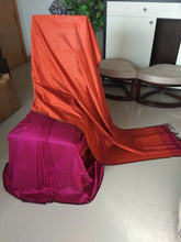 Load image into Gallery viewer, Bengal Cotton Silk - Half n Half  Saree with Blouse Piece