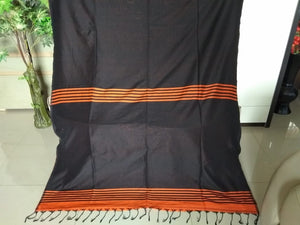 Bengal Cotton Silk - Half n Half  Saree with Blouse Piece