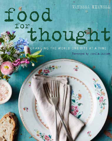 Food for thought recipe book cover