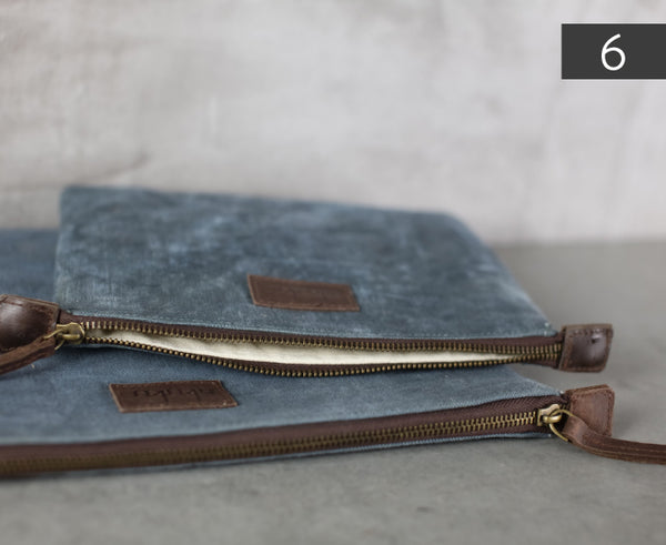 Artisan Canvas Travel Pouch