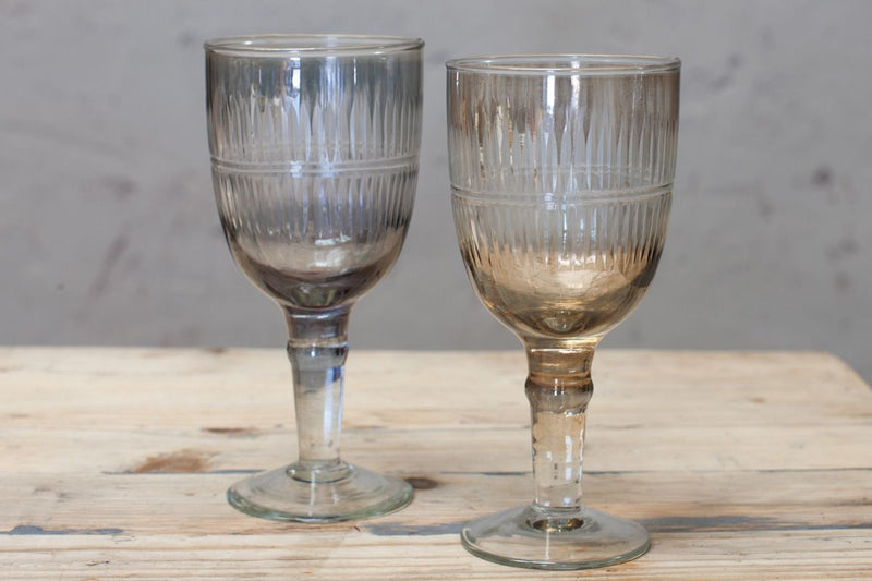 Nkuku GLASSWARE Abeeko Wine Glass