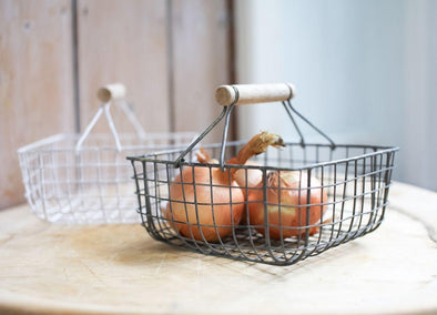 Nkuku KITCHEN STORAGE Alama Square Basket