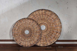 Nkuku KITCHEN STORAGE Aluna Cane Tray - Natural