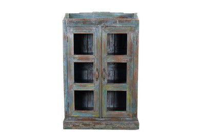 Nkuku INDIAN ANTIQUES FURNITURE Antique Wooden Cabinet