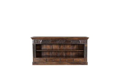 Nkuku INDIAN ANTIQUES FURNITURE Antique Wooden Sideboard