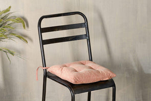 Nkuku CUSHIONS & THROWS Azti Seat Cushion - Washed Rust