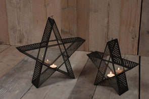Nkuku LANTERNS & T-LIGHTS Baka Standing Star