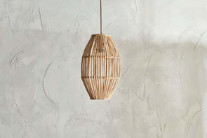 Nkuku LIGHTING Bamara Long Cane Lampshade