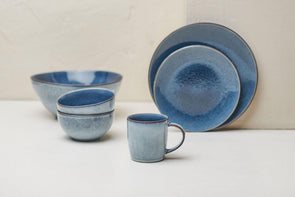 Nkuku TABLEWARE Bao Ceramic Tableware - Navy