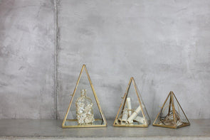 Nkuku DECORATIVE ACCESSORIES Bequai Display Pyramid