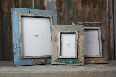 Nkuku PHOTO FRAMES Bera Reclaimed Wood Frame