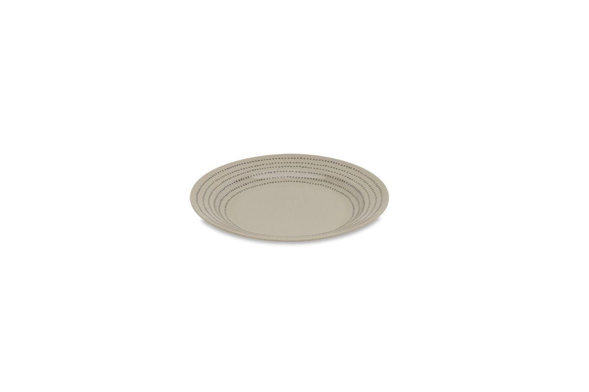 Nkuku TABLEWARE Bria Ceramic Plate - Grey