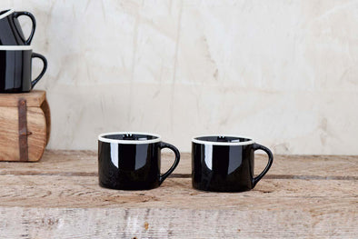 Nkuku TABLEWARE Datia Mug - Small - Black