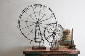 Nkuku DECORATIVE ACCESSORIES Decorative Wire Ferris Wheel