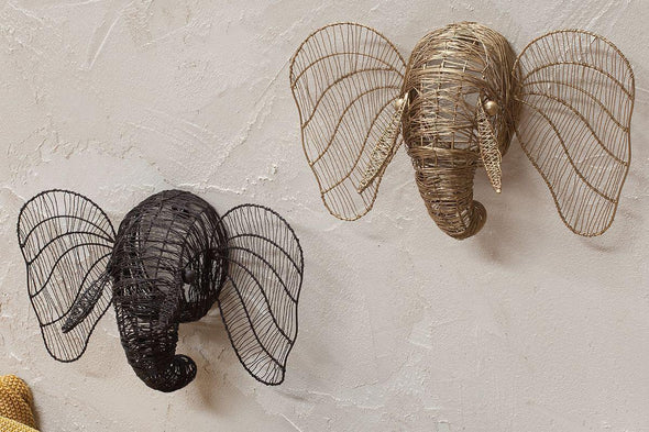 Nkuku DECORATIVE ACCESSORIES Eko Mini Elephant Head