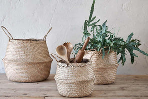 Nkuku STORAGE & BASKETS Ekuri Basket - Natural