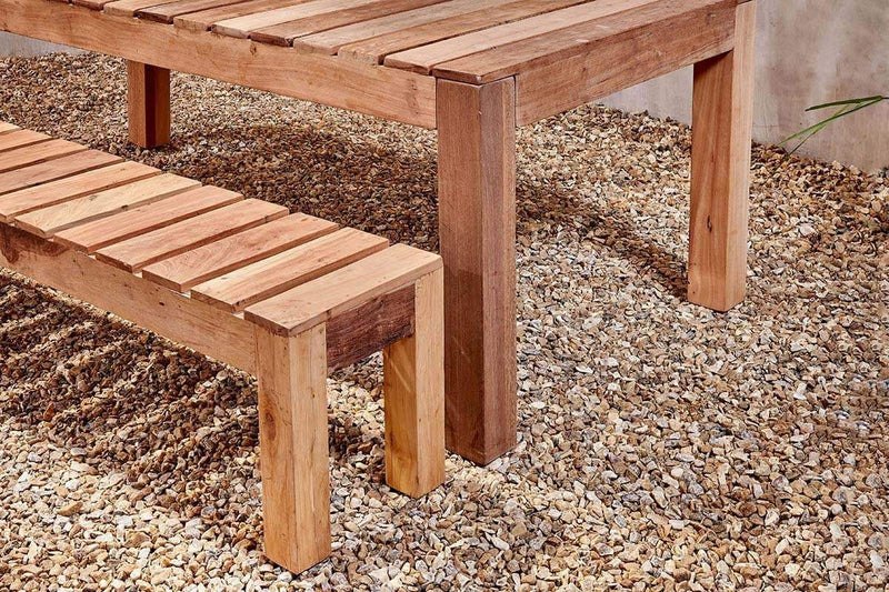Nkuku FURNITURE Jaisalmer Reclaimed Teak Bench - 180cm (Available from 29th March)