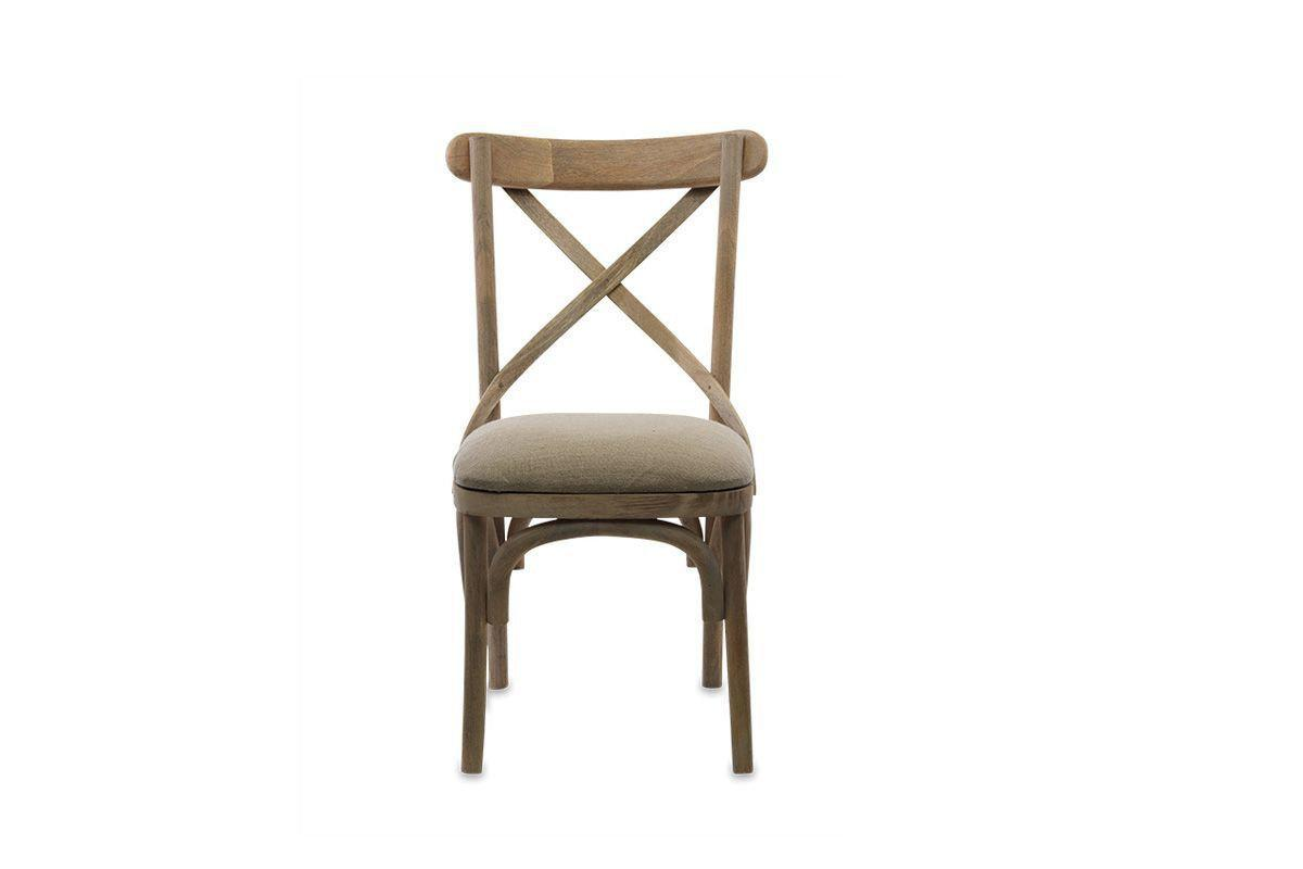 Nkuku FURNITURE Jara Chair - Mango Wood and Linen