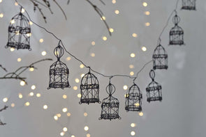 Nkuku CHRISTMAS DECORATIONS Jaria Wire Garland