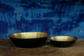 Nkuku DECORATIVE ACCESSORIES Kadova Brass Bowl
