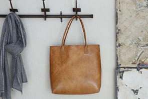 Nkuku BAGS Kharan Leather Shopper