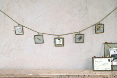 Nkuku PHOTO FRAMES Kiko Glass Garland