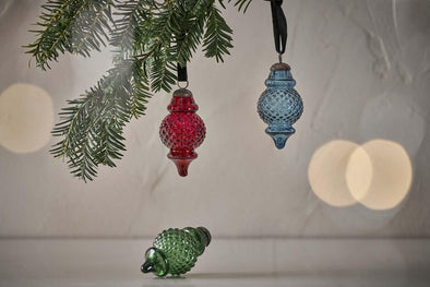 Nkuku CHRISTMAS DECORATIONS Layli Lantern Baubles