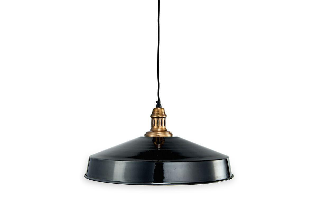 Nkuku LIGHTING Madu Pendant - Black