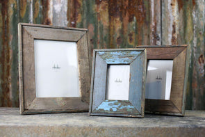 Nkuku PHOTO FRAMES Malu Reclaimed Wood Frame