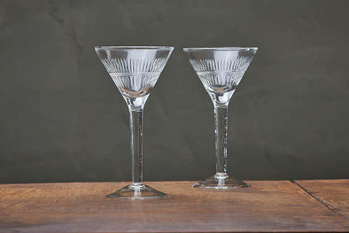 Nkuku GLASSWARE Mila Cocktail Glass - Clear