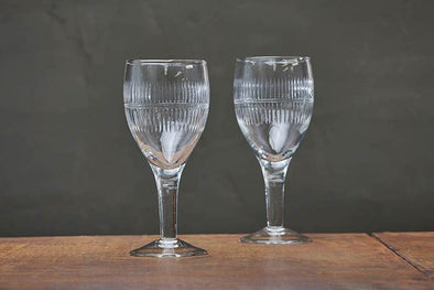 Nkuku GLASSWARE Mila Wine Glass - Clear