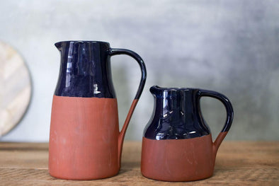 Nkuku TABLE ACCESSORIES Miri Terracotta Jug