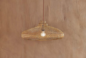 Nkuku LIGHTING Mukuni Wire Lampshade