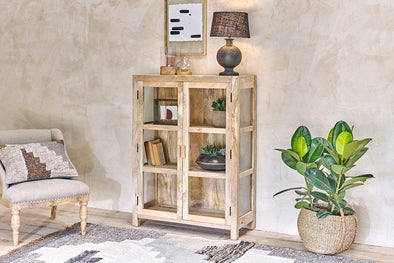 Nkuku FURNITURE Nayo Short Cabinet