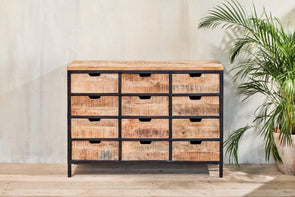 Nkuku FURNITURE Nermada Multi-Drawer Cabinet