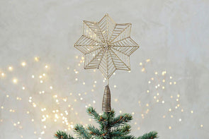 Nkuku CHRISTMAS DECORATIONS Ngoni Giant Star Tree Topper