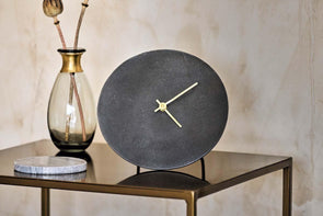 Nkuku DECORATIVE ACCESSORIES Okota Standing Clock - Black