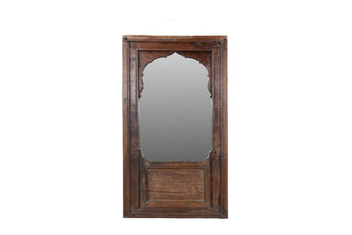 Nkuku INDIAN ANTIQUES MIRRORS Ornate Wooden Mirror