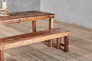 Nkuku FURNITURE Reclaimed Bench
